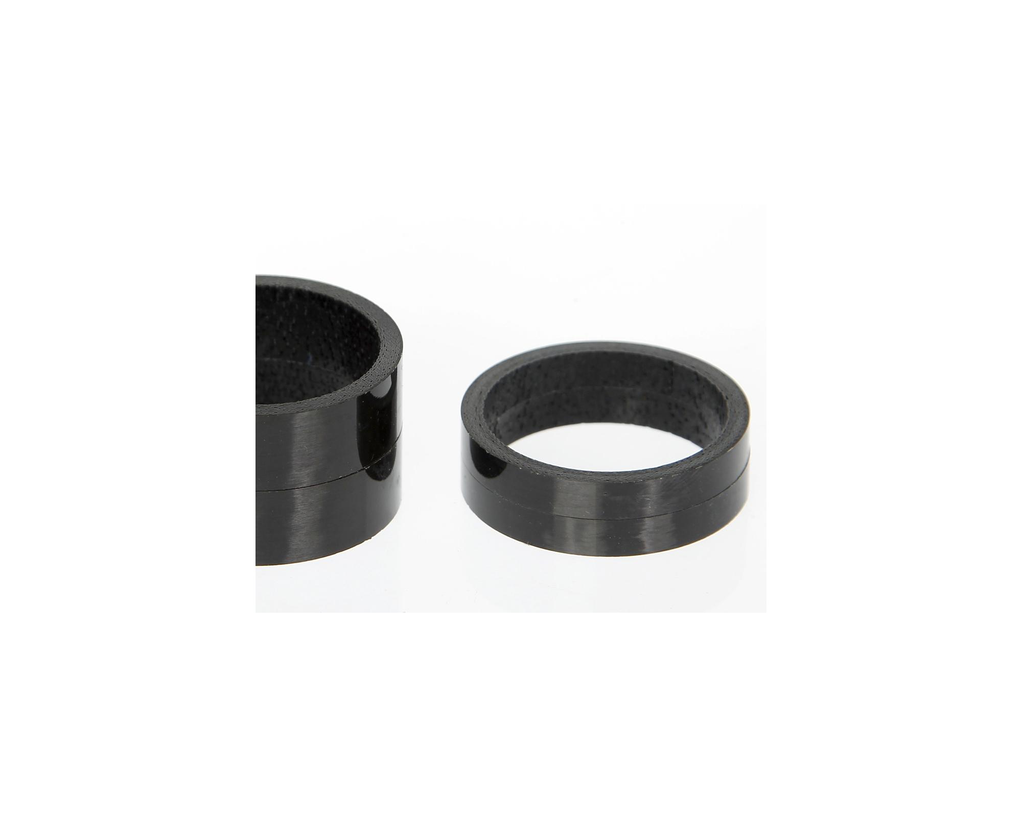 Carbon Fiber Spacers : Carbon headset spacer set superstar components