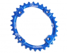 Raptor Chainring 104BCD OVAL - Narrow Wide