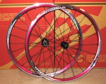 Clearance RED Alexrims ESR475 Asymmetric Rim Wheelset