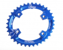 Raptor Chainring 96BCD Asymetric OVAL - Narrow Wide