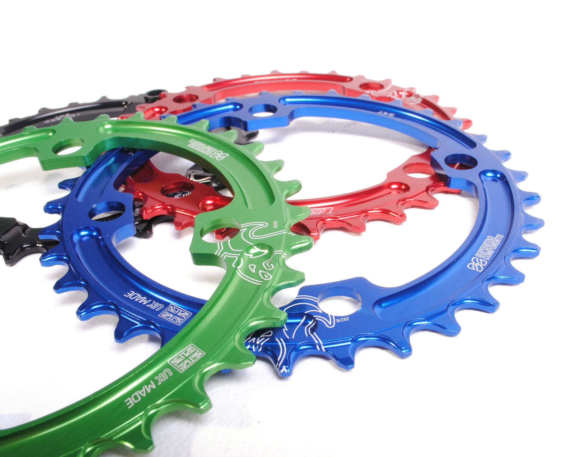 Raptor Chainring 104BCD - Narrow Wide - Superstar Components
