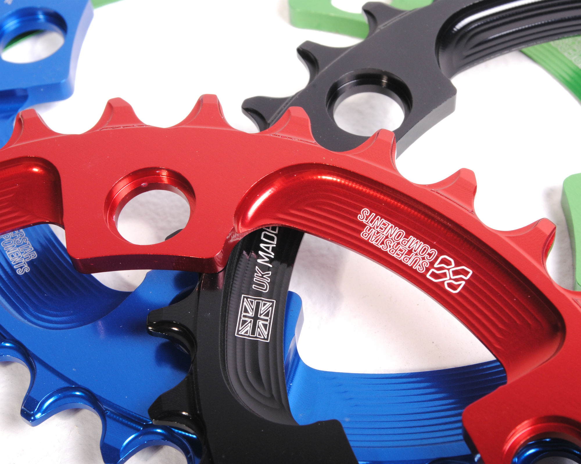 Raptor Chainring 110BCD Asymetric - Narrow Wide - Superstar