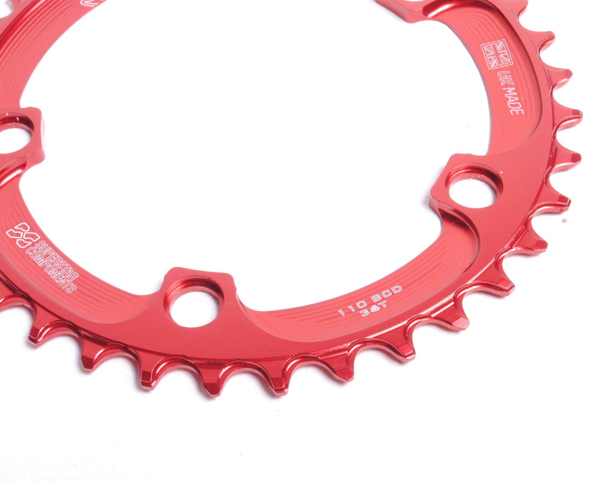 Raptor Chainring 110BCD - Narrow Wide - Superstar Components