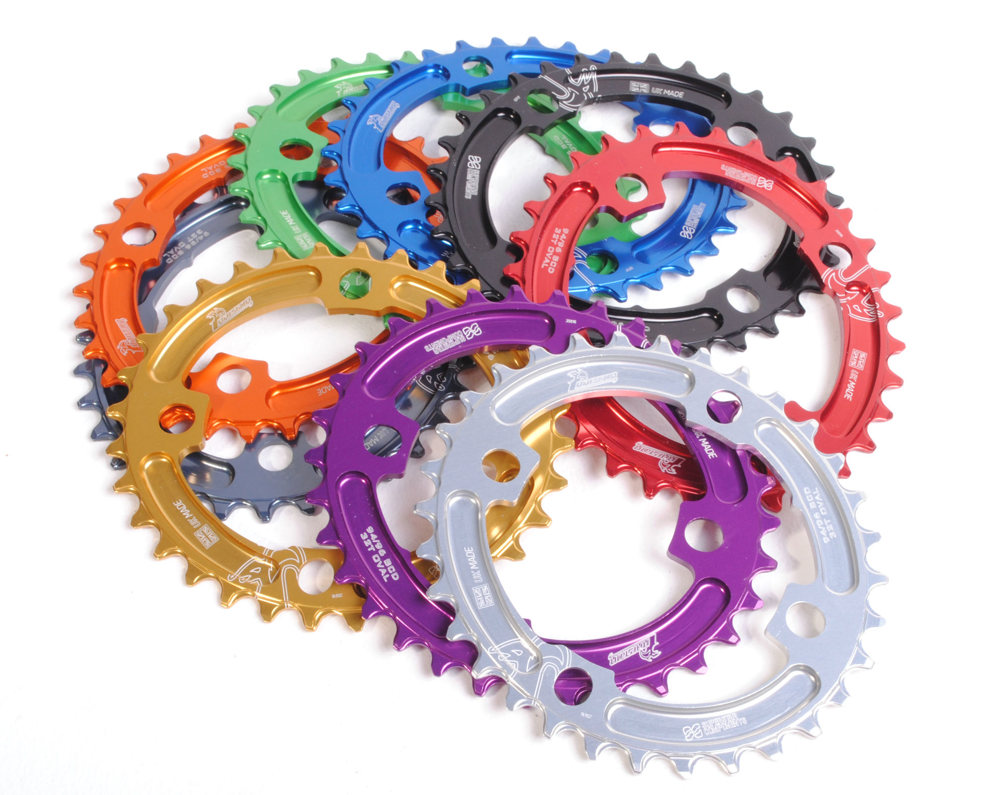 d4ebec572bb Raptor Chainring 94 and 96BCD OVAL - Narrow Wide - Superstar Components