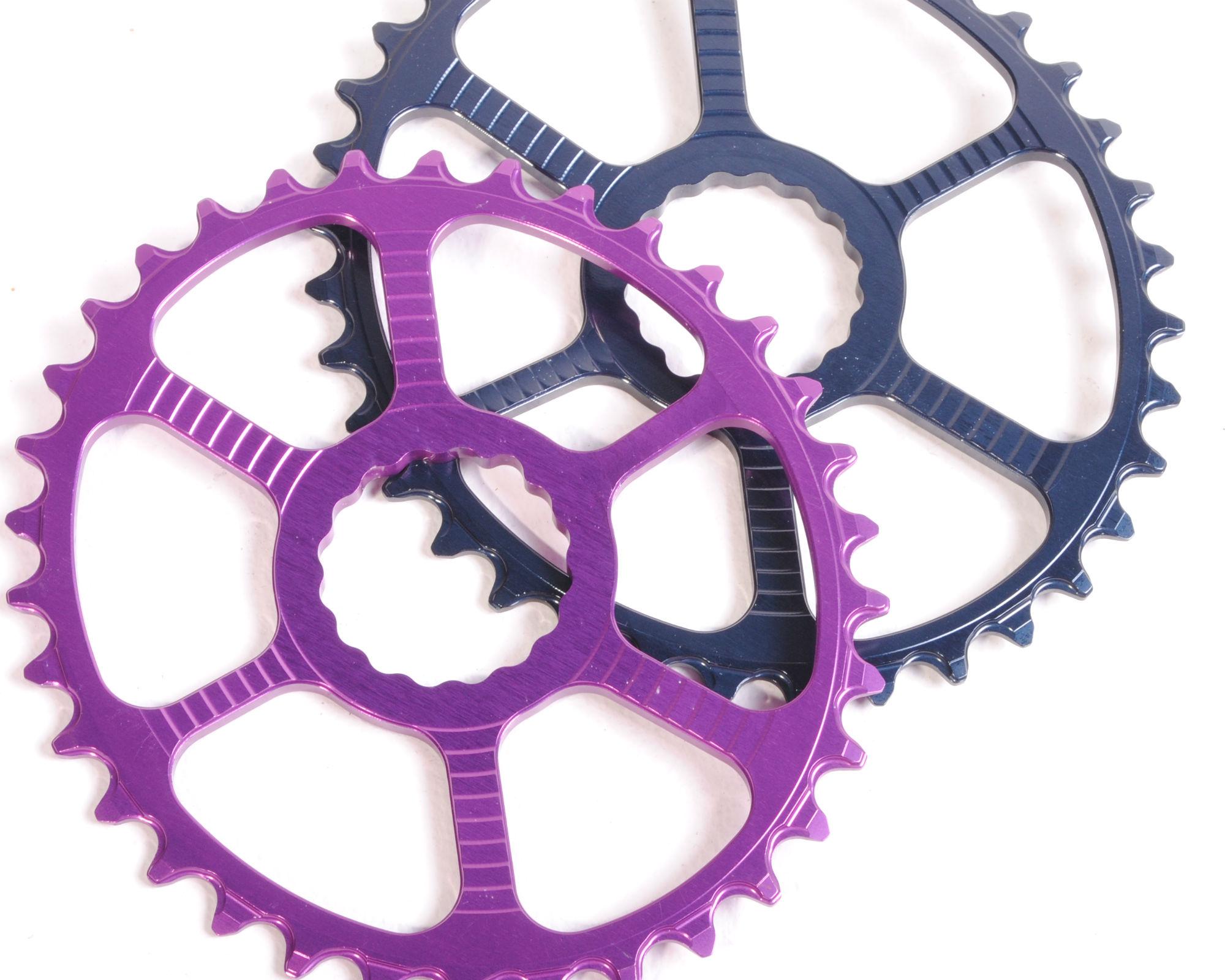 Race Face Cinch Chainring 32t Direct Mount Purple